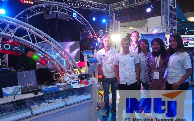 PT MTJ exhibits on Broadcast Indonesia 2016